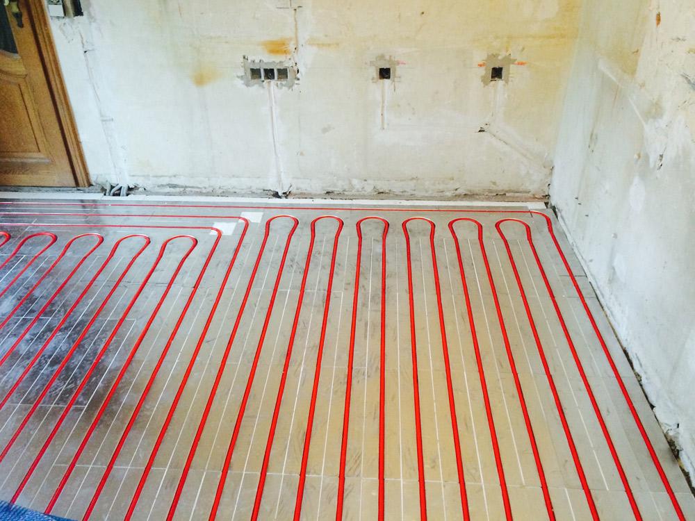 Fussbodenheizung für Renovierungen